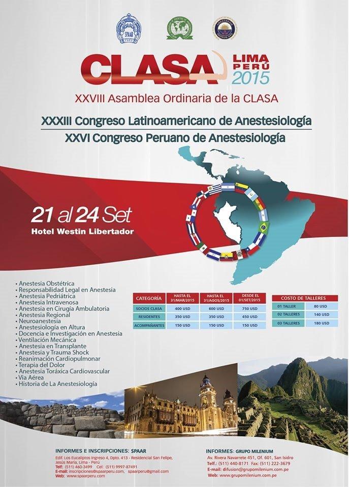 Poster Congreso CLASA