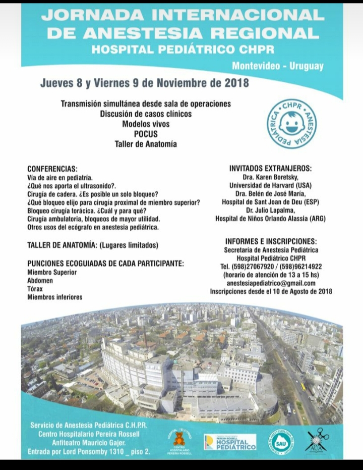 SAU – Sociedad de Anestesiología del Uruguay » Jornada Internacional ...